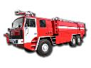 Спецтехника пожарная. Пожарный аэродромный автомобиль  AA 15-100-50-3